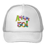 Awesome 50 Birthday T-shirts and Gifts Hats
