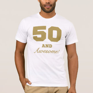 Awesome 50th Birthday T-Shirt