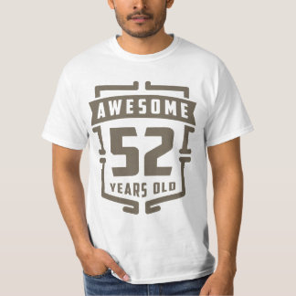 Awesome 52 Years Old T-Shirt