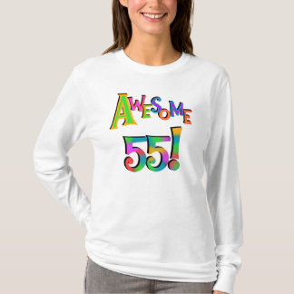 Awesome 55 Birthday T-shirts and Gifts