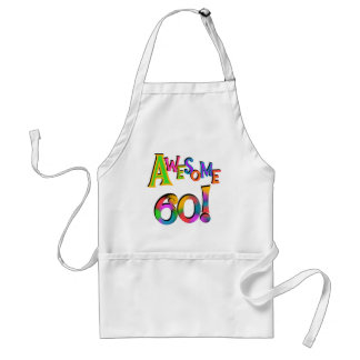 Awesome 60 Birthday T-shirts and Gifts Adult Apron