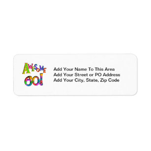 Awesome 60 Birthday T Shirts And Gifts Label