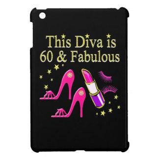 AWESOME 60TH BIRTHDAY DIVA DESIGN iPad MINI CASES