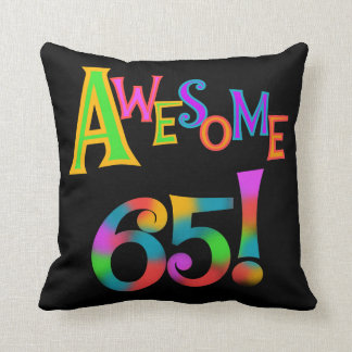 Awesome 65 Birthday Tshirts and Gifts Pillows