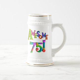 Awesome 75 Birthday T-shirts and Gifts Coffee Mug