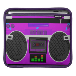 Awesome 80's Boombox Sleeve For iPads