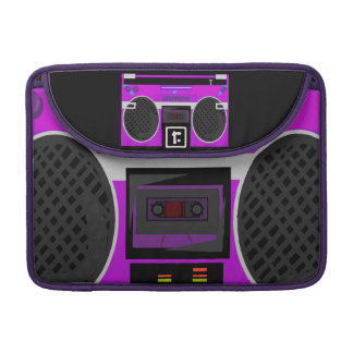 Awesome 80's Boombox Sleeves For MacBook Pro