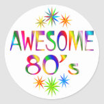 Awesome 80s sticker