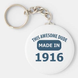 Awesome 99 year old birthday keychain