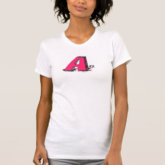 Awesome A Monogrammed T Shirt