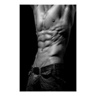 Awesome Abs Poster