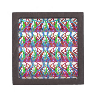 Awesome abstract colorful art for Wedding Gifts 88 Keepsake Box