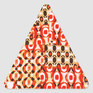 Awesome Abstract Design Pattern Image Triangle Sticker