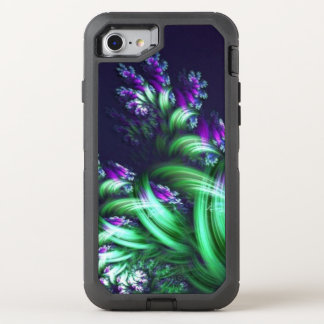awesome abstract floral OtterBox defender iPhone 8/7 case