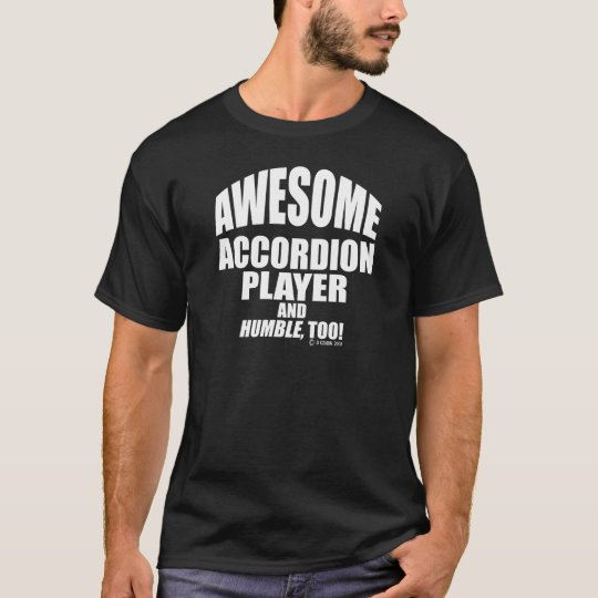 Awesome Accordion Player T-Shirt