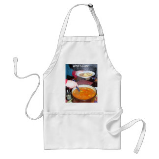 """""""AWESOME."""" ADULT APRON"""