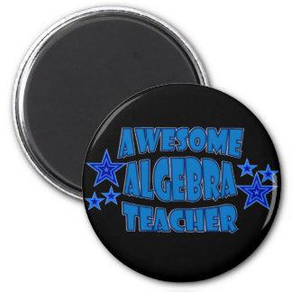 Awesome Algebra Teacher 2 Inch Round Magnet