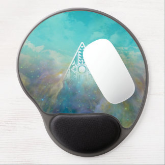 """Awesome """"All seeing eye"""" triangle Orion nebula Gel Mouse Pad"""
