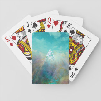 """Awesome """"All seeing eye"""" triangle Orion nebula Playing Cards"""