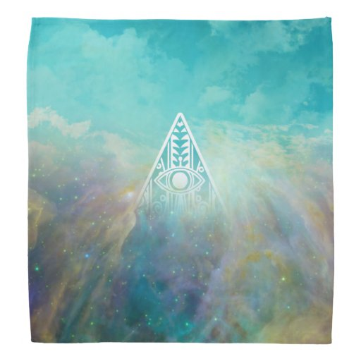 "Awesome ""All seeing eye"" triangle Orion nebula Bandannas"