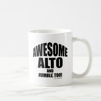 Awesome Alto Classic White Coffee Mug