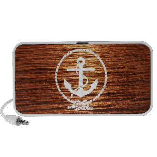 Awesome Anchor Streak Light Sunset Calm sea iPhone Speakers