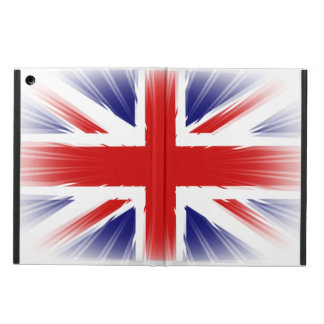 Awesome and Unique Sunburst U.K Flag iPad Air Cover