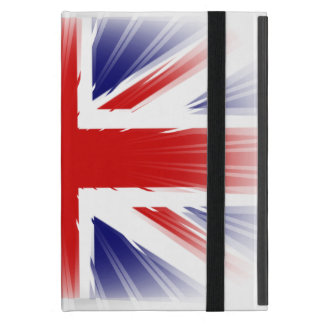 Awesome and Unique Sunburst U.K Flag iPad Mini Cover