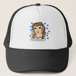Awesome Angie The Soaring Star Trucker Hat