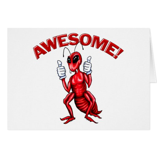 Awesome Ant Greeting Cards