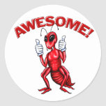 Awesome Ant Round Sticker