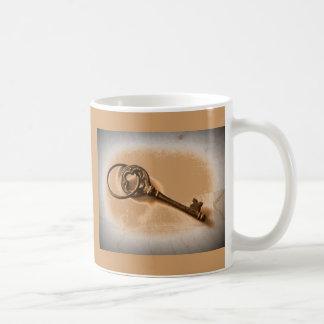 Awesome Antique Key Photo Image Design Coffee Mug