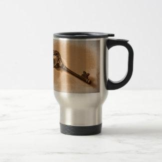 Awesome Antique Key Photo Image Design Travel Mug