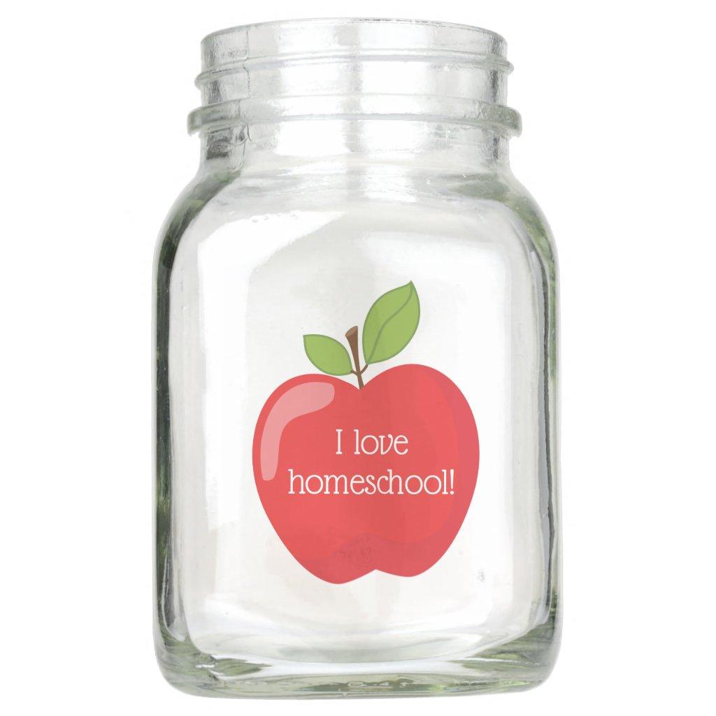 Awesome Apple I love homeschool