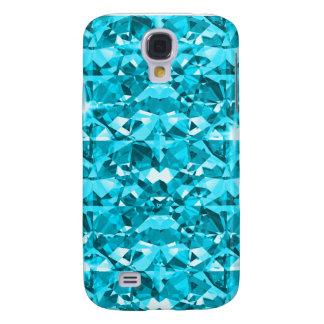 Awesome Aqua Diamond Samsung Galaxy S4 Case