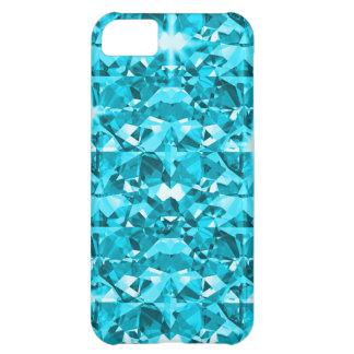 Awesome Aqua Diamonds Case For iPhone 5C