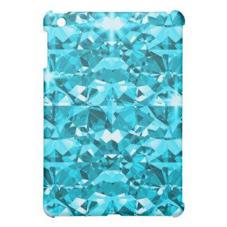 Awesome Aqua Diamonds iPad Mini Cases