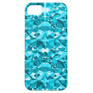 Awesome Aqua Diamonds iPhone SE/5/5s Case