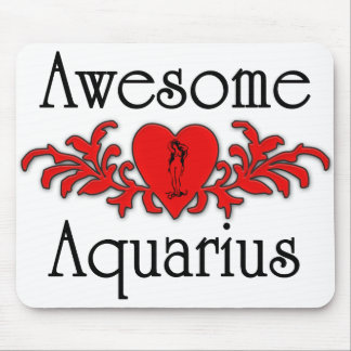 Awesome Aquarius Mouse Pad