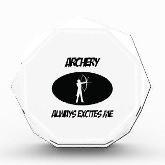 awesome archery designs acrylic award