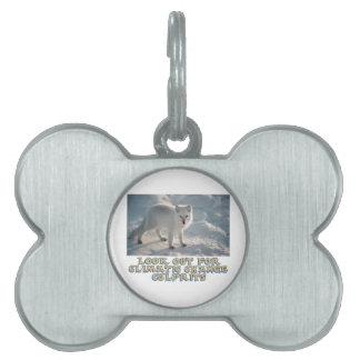 awesome Arctic Wolf designs Pet Tag