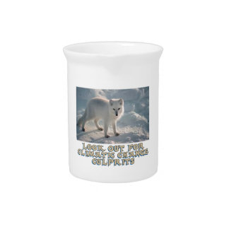 awesome Arctic Wolf designs Pitcher