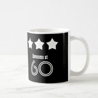 Awesome at 60 or ANY AGE Custom Name Birthday P15Z Coffee Mug