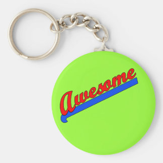 Awesome at Any Age! Customize This Basic Round Button Keychain