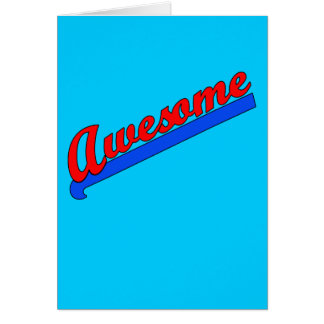 Awesome at Any Age! Customize This Card