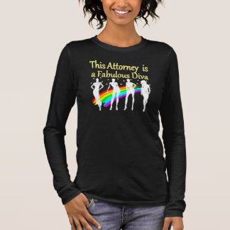AWESOME ATTORNEY PARTY GIRL DESIGN LONG SLEEVE T-Shirt