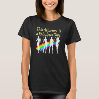 AWESOME ATTORNEY PARTY GIRL DESIGN T-Shirt