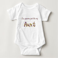 Awesome Aunt Baby Bodysuit