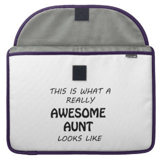 Awesome Aunt MacBook Pro Sleeve