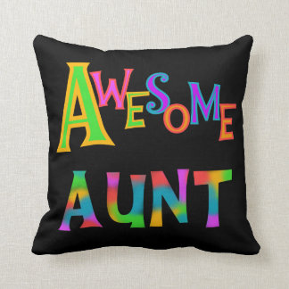 Awesome Aunt T-shirts and Gifts Pillows